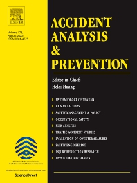 Cover image for Accident Analysis & Prevention