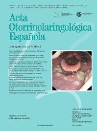 Cover image for Acta Otorrinolaringologica Española