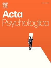 Cover image for Acta Psychologica