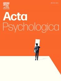 Acta Psychologica - ISSN 0001-6918