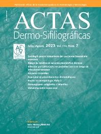 Cover image for Actas Dermo-Sifiliográficas