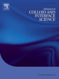 Cover image for Advances in Colloid and Interface Science