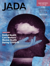 Cover image for The Journal of the American Dental Association