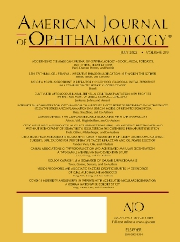 American Journal of Ophthalmology - ISSN 0002-9394