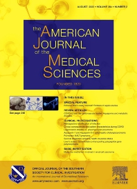 Cover image for The American Journal of the Medical Sciences