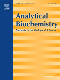 Analytical Biochemistry - ISSN 0003-2697