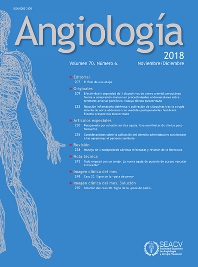 Cover image for Angiología