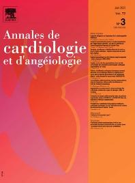 Cover image for Annales de Cardiologie et d'Angéiologie