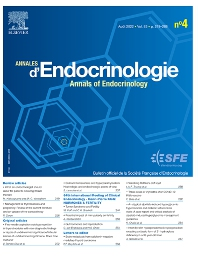 Cover image for Annales d'Endocrinologie