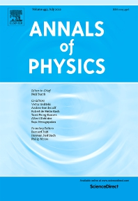 Cover image for Annals of Physics
