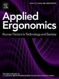 Applied Ergonomics - ISSN 0003-6870