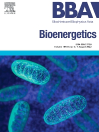 Cover image for Biochimica et Biophysica Acta: Bioenergetics