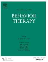 Behavior Therapy - ISSN 0005-7894
