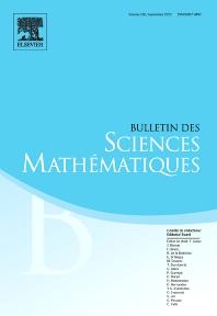 Cover image for Bulletin des Sciences Mathématiques