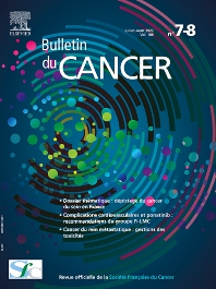 Cover image for Bulletin du Cancer