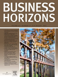 Cover image for Business Horizons