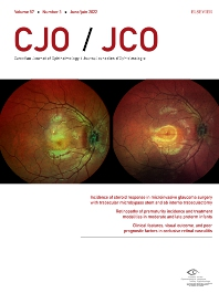 Cover image for Canadian Journal of Ophthalmology
