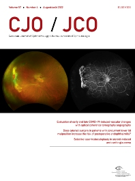 Canadian Journal of Ophthalmology - ISSN 0008-4182