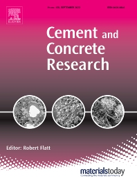 Cover image for Cement and Concrete Research