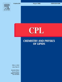 Cover image for Chemistry and Physics of Lipids