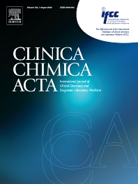 Clinica Chimica Acta - ISSN 0009-8981