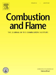 Cover image for Combustion and Flame