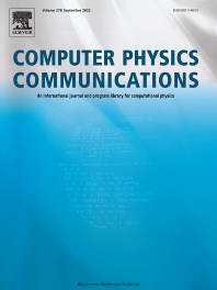 Cover image for Computer Physics Communications