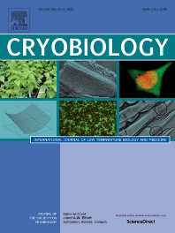 Cover image for Cryobiology
