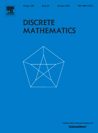 Discrete Mathematics - ISSN 0012-365X
