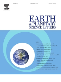 Earth and Planetary Science Letters - ISSN 0012-821X
