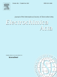 Cover image for Electrochimica Acta