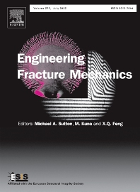 Cover image for Engineering Fracture Mechanics