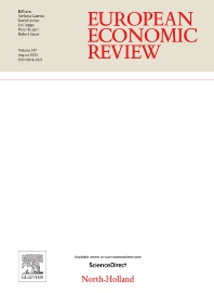 Cover image for European Economic Review