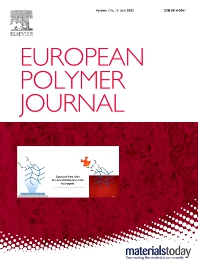Cover image for European Polymer Journal