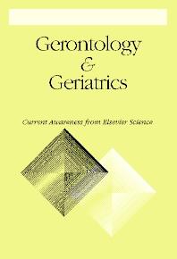 Gerontology And Geriatrics - ISSN 0014-424X