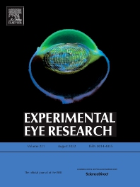 Cover image for Experimental Eye Research