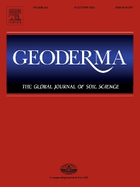 Cover image for Geoderma