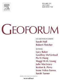 Cover image for Geoforum