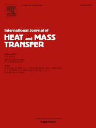 Cover image for International Journal of Heat and Mass Transfer