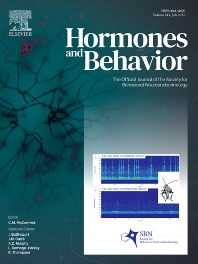 Hormones and Behavior - ISSN 0018-506X