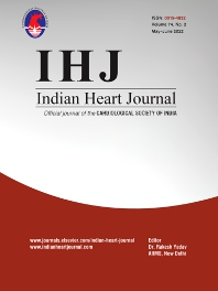 Cover image for Indian Heart Journal