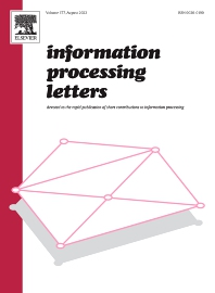 Information Processing Letters - ISSN 0020-0190