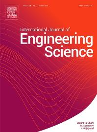 International Journal Of Engineering Science Elsevier