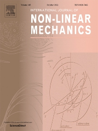 Cover image for International Journal of Non-Linear Mechanics