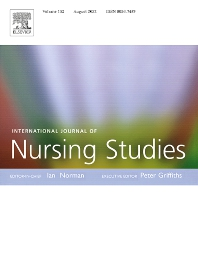 Cover image for International Journal of Nursing Studies