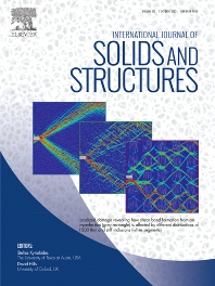 Cover image for International Journal of Solids and Structures