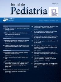 Cover image for Jornal de Pediatria