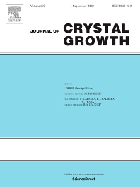Cover image for Journal of Crystal Growth
