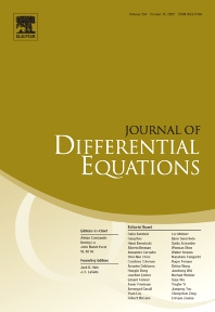 Cover image for Journal of Differential Equations