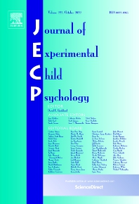Journal of Experimental Child Psychology - ISSN 0022-0965